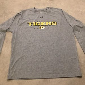 Men's Under Amour Mizzou Tigers long sleeve